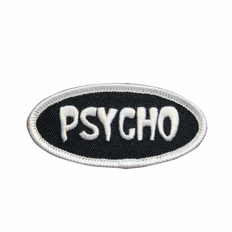 Psycho Name Tag Patch