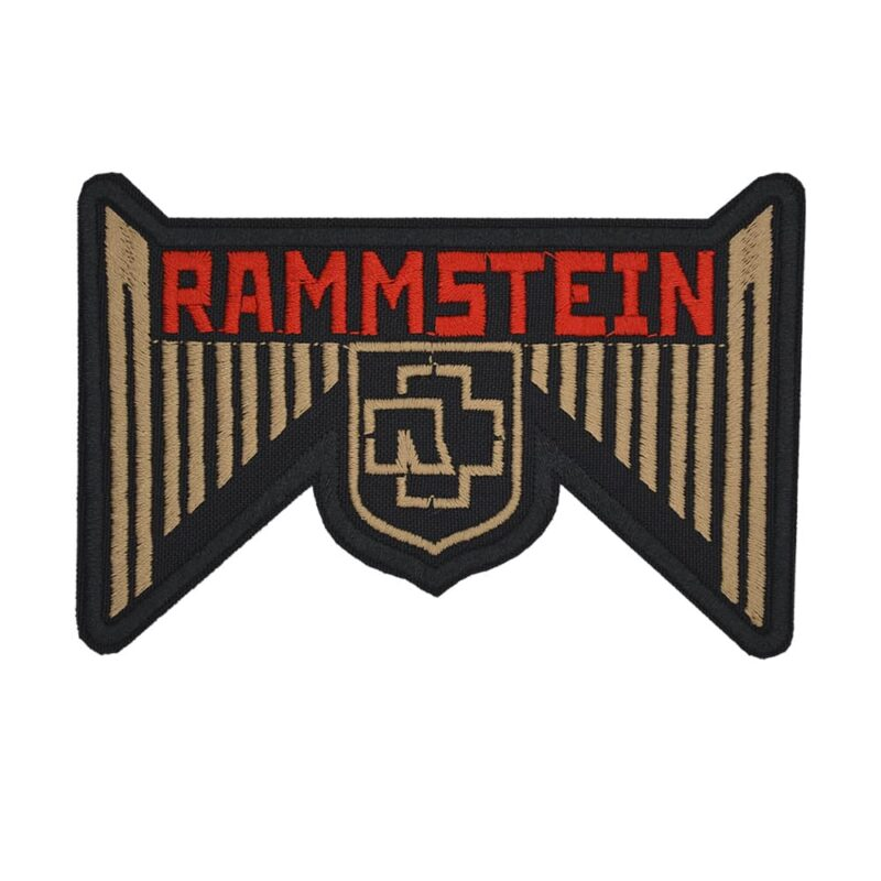 Rammstein Logo Embroidered Patch