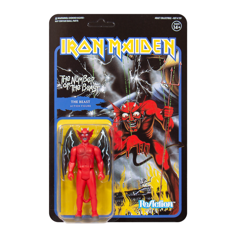 Iron Maiden The Number of the Beast Action Figure