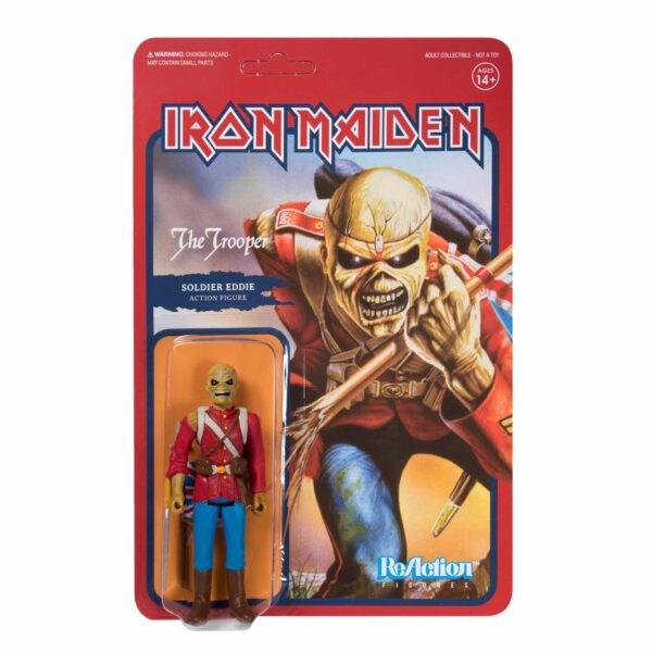 Iron Maiden The Trooper Action Figure by Super7