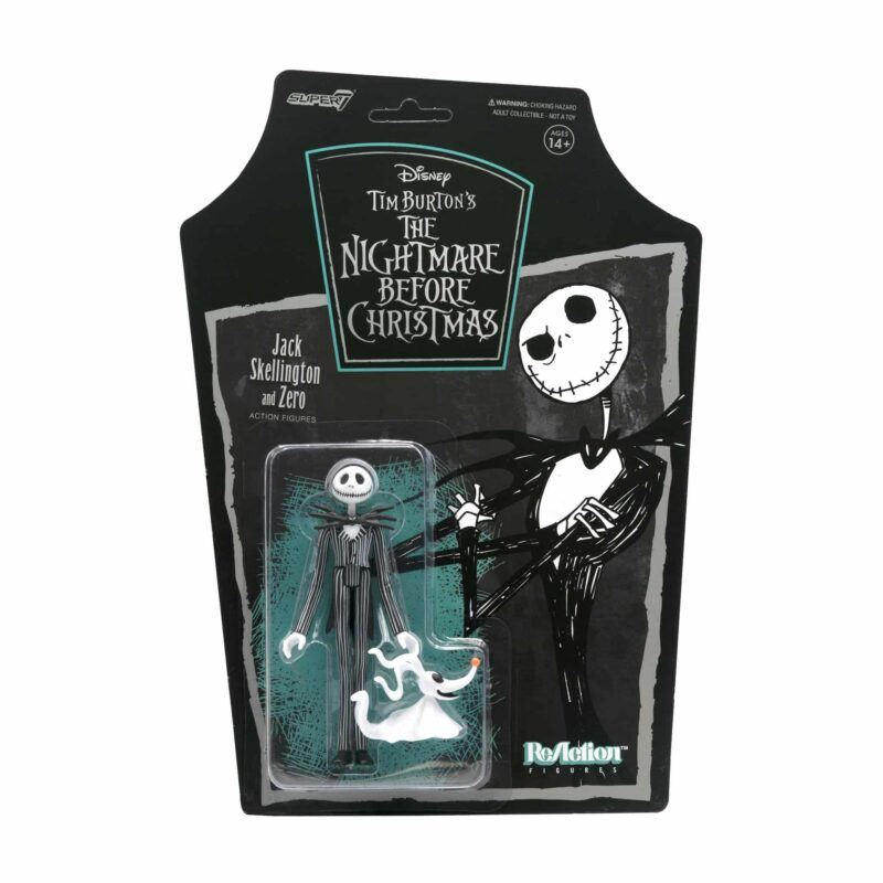 The Nightmare Before Christmas Jack Skellington Action Figure by Super7