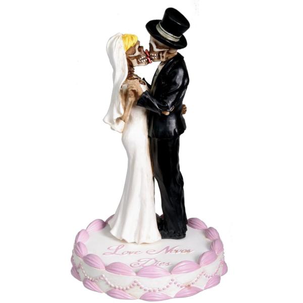 Love Never Dies Wedding Cake Topper
