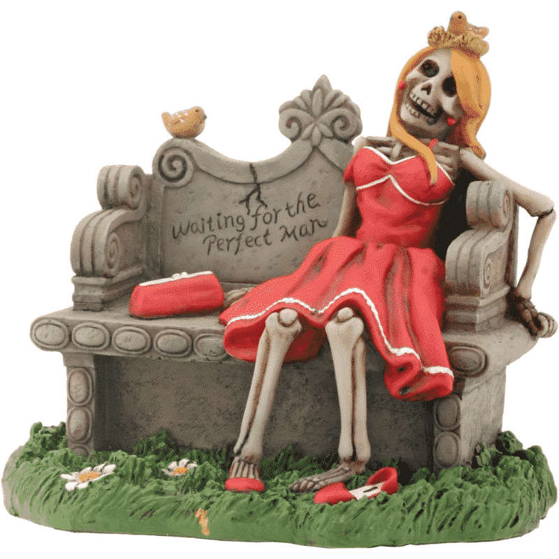Waiting For the Perfect Man Figurine