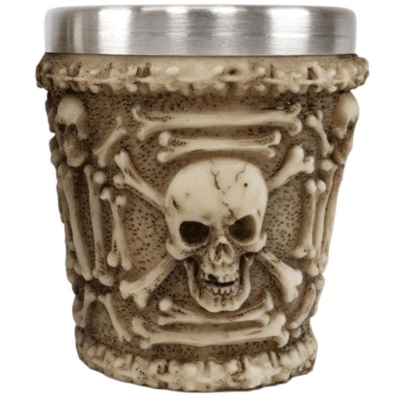 Ossuary Skull Shot Cup