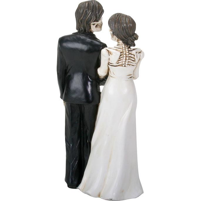 Skeleton Wedding Couple Figurine 1