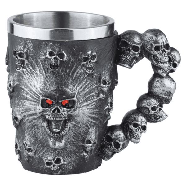 Spirit Ossuary Skull Mug