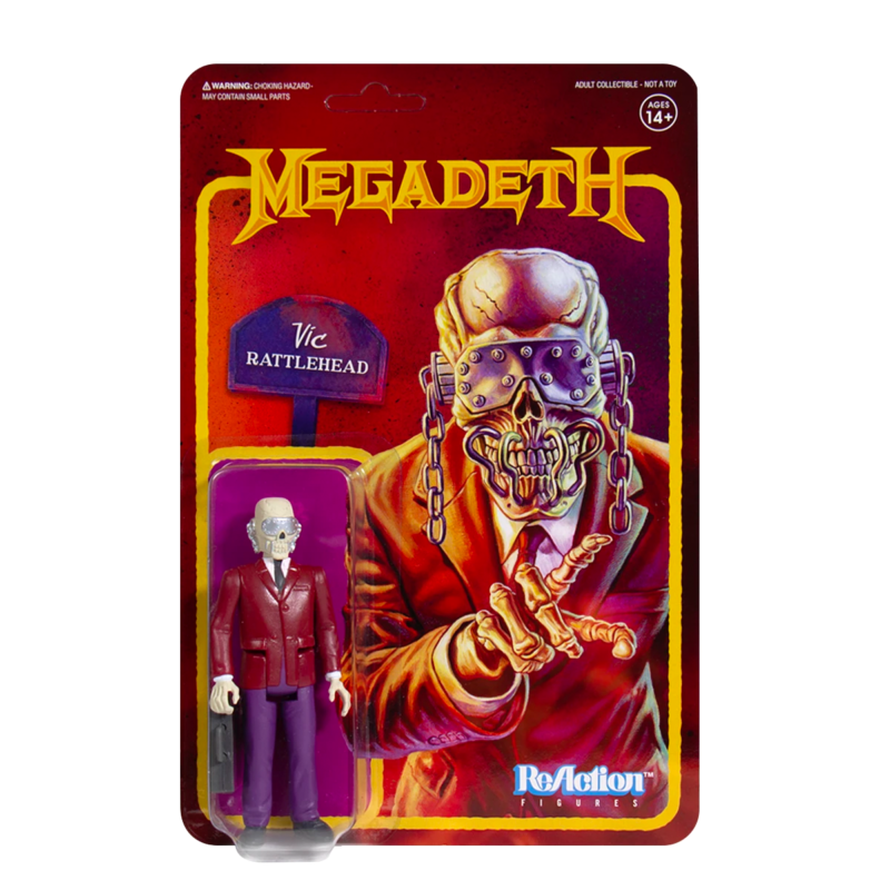 Megadeth Vic Rattlehead Action Figure