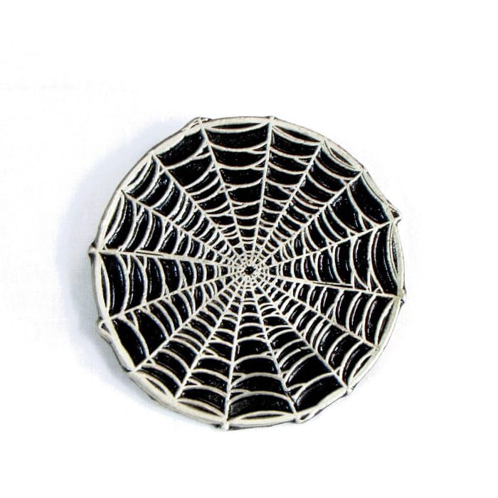 Spider Web Belt Buckle