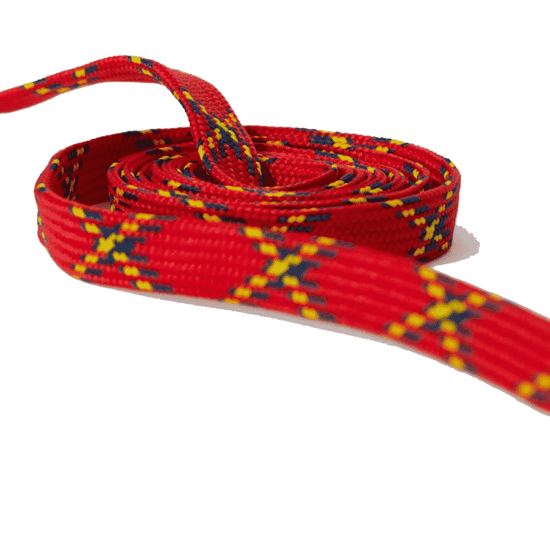 Dr. Martens 8-10 Eye Laces Red Plaid 2