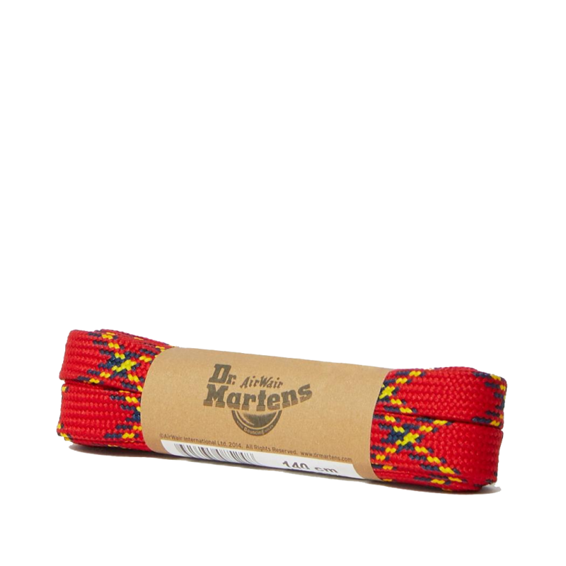 8-10 Eye Laces Red Plaid