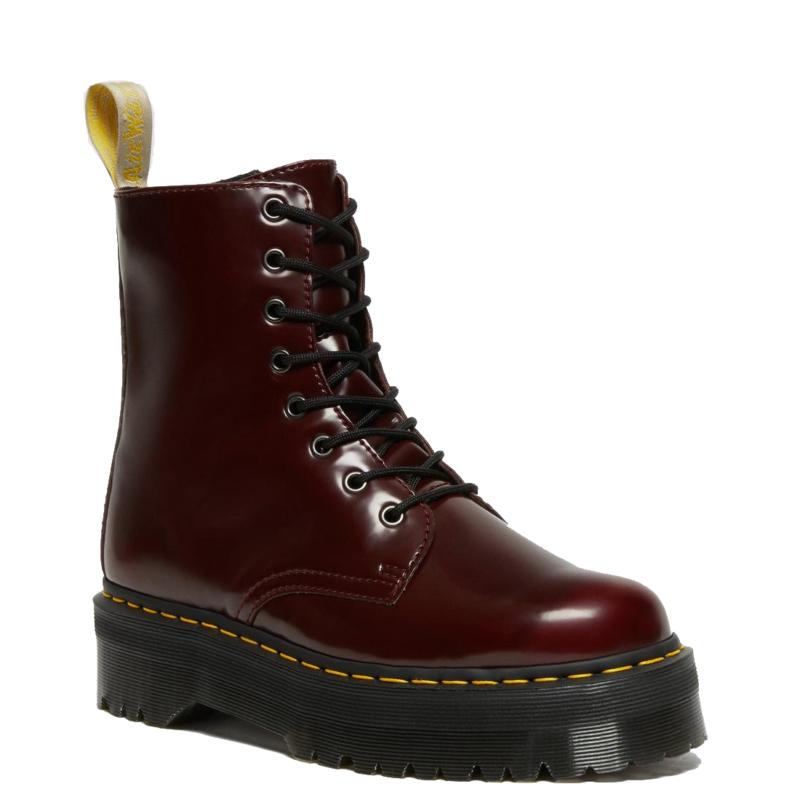 Vegan Cherry Jadon II Platform Boot