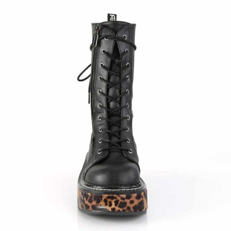 Demonia Platform Cheetah Boot Emily-350 1