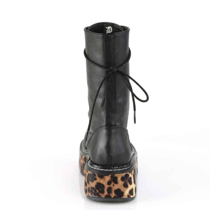 Demonia Platform Cheetah Boot Emily-350 3