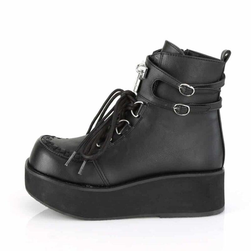 Demonia Platform Ankle Boot Sprite-70 2