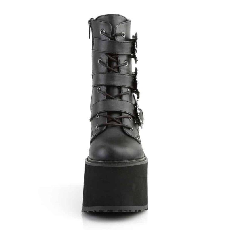 Demonia Bat Buckle Platform Boot Swing-103 1