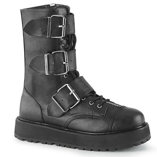 Buckle Platform Boot Valor-210