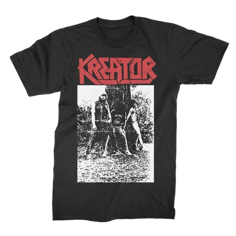Kreator Band Photo T-Shirt