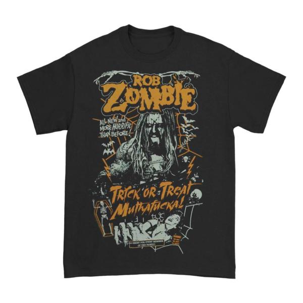 Rob Zombie Trick or Treat MF T-Shirt