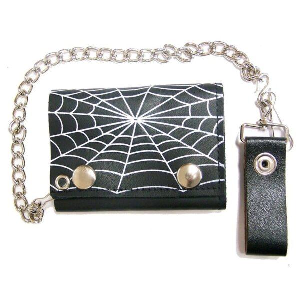 Spiderweb Tri-Fold Wallet