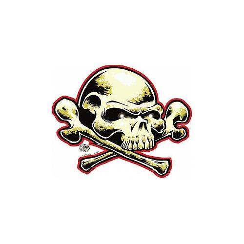 Dirty Donny FreeDom Skull Sticker 1