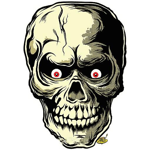 Dirty Donny Skullor Sticker