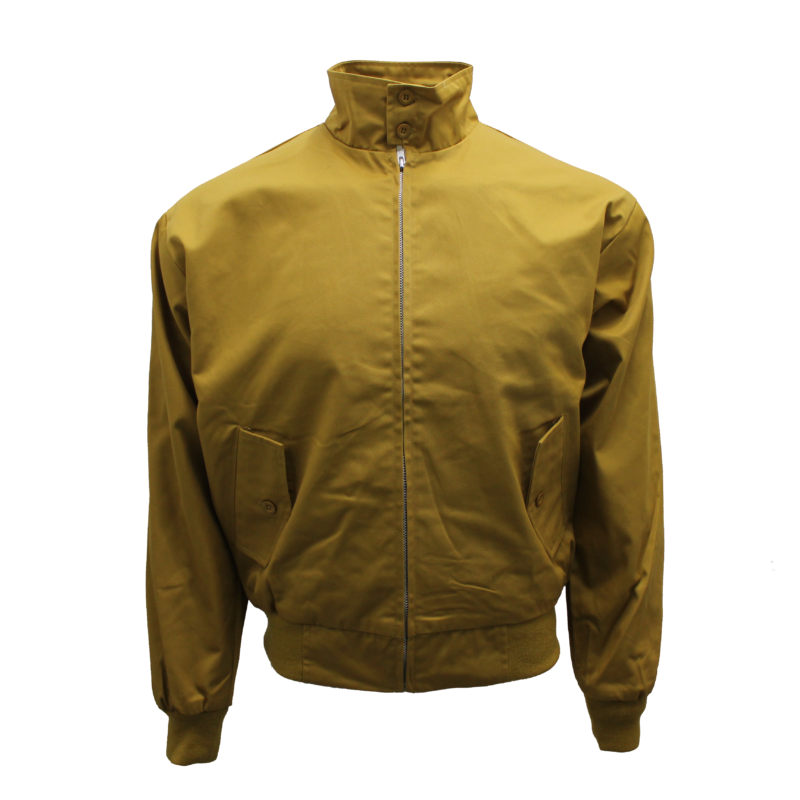 Harrington Jacket Mustard by Relco London 1