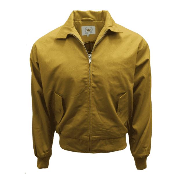 Harrington Jacket Mustard by Relco London