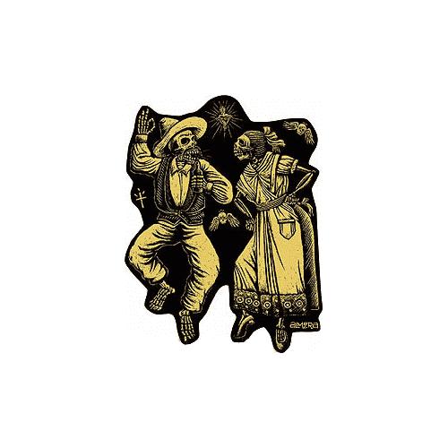 Almera Muertos Sticker