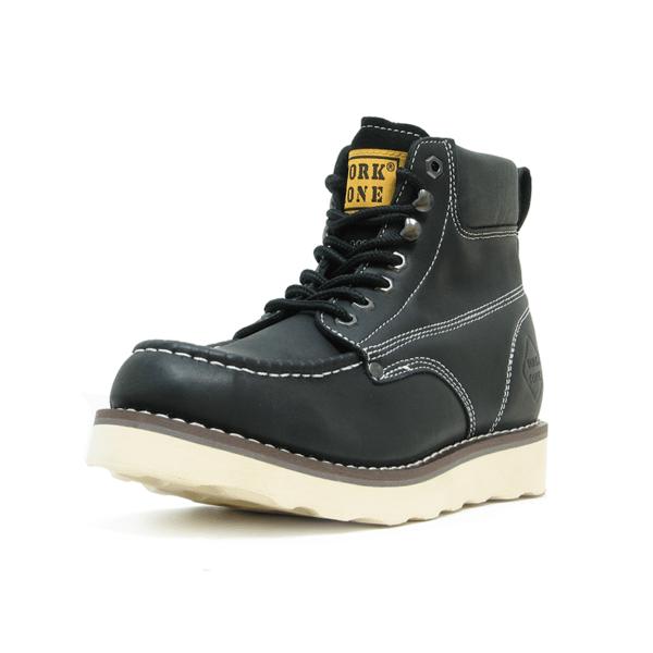 Moc Soft Toe Wedge Work Boot