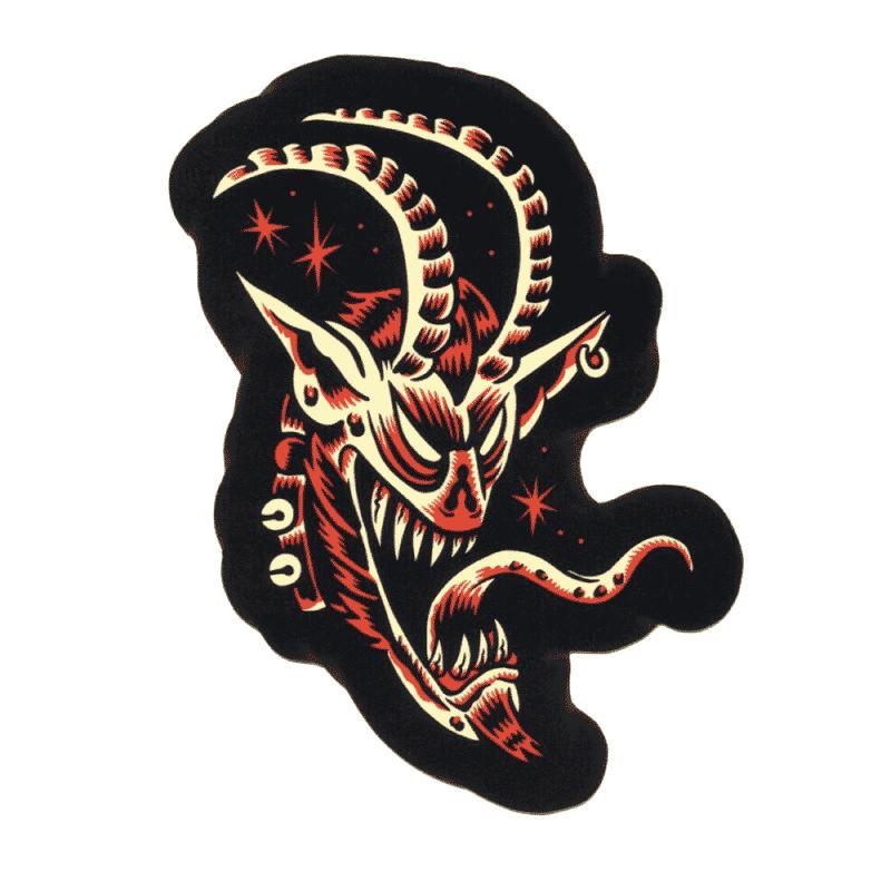 Sol Rac Krampus Sticker