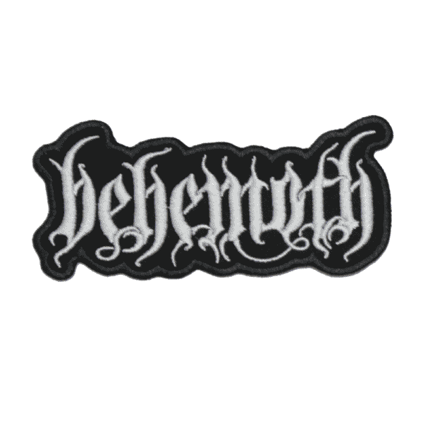 Behemoth Embroidered Patch