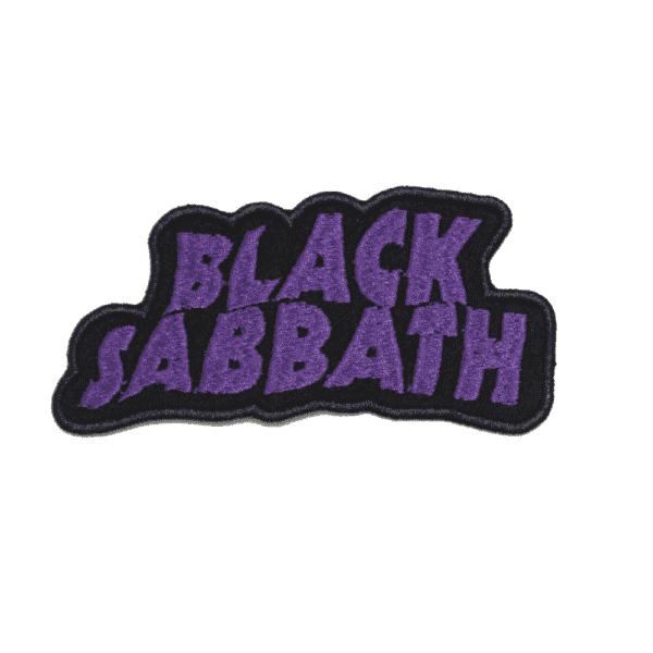 Black Sabbath Embroidered Patch
