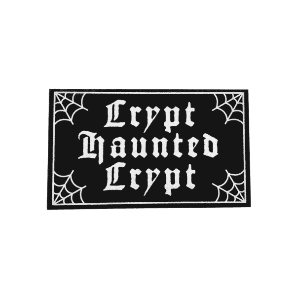 Crypt Haunted Crypt Rug