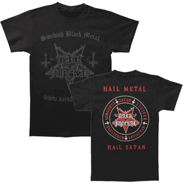 Dark Funeral Swedish Black Metal Shirt