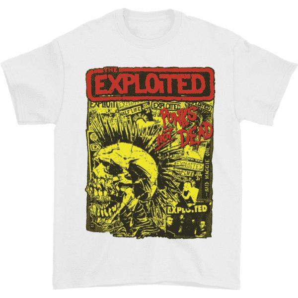 The Exploited Punks Not Dead T-Shirt