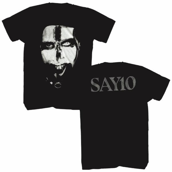 Marilyn Manson Say 10 T-Shirt