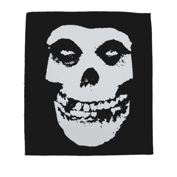 Misfits Fiend Skull Back Patch