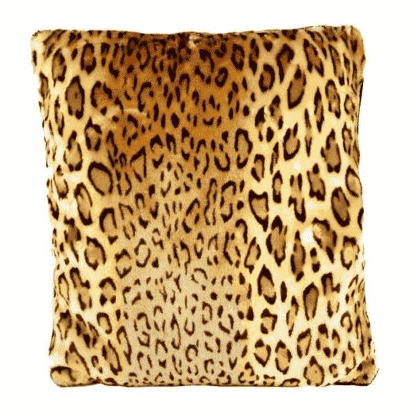 Velvet Leopard Pillow by Sourpuss Clothing