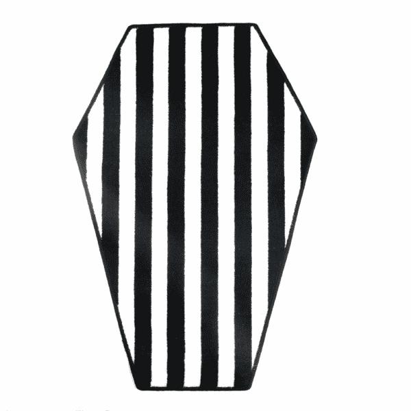 Striped Coffin Rug