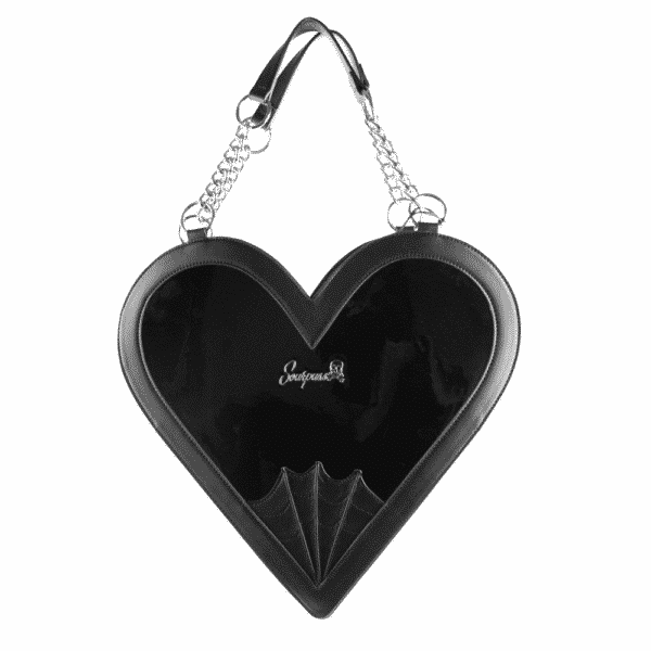 Heartbreaker Glossy Black Purse