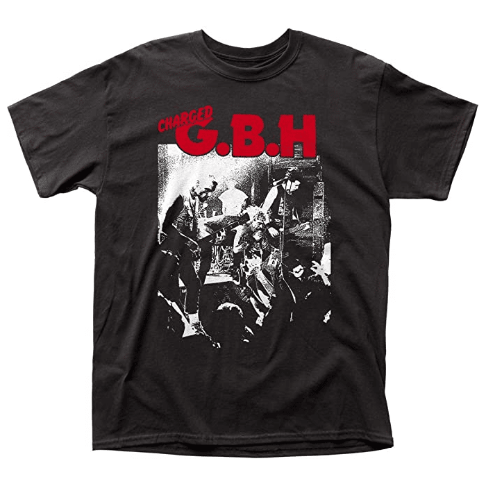 Charged GBH Live T-Shirt
