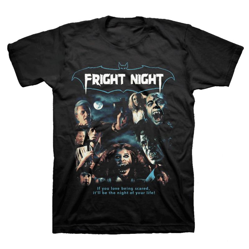 Fright Night Collage T-Shirt