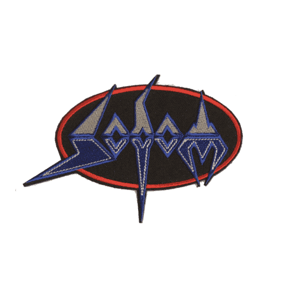 Sodom Logo Embroidered Patch