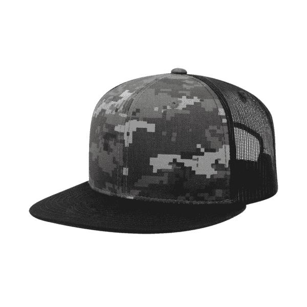 Camouflage Snapback Hat