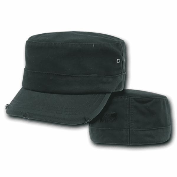 Black Vintage GI Cap