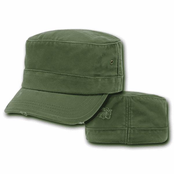 Olive Vintage GI Cap