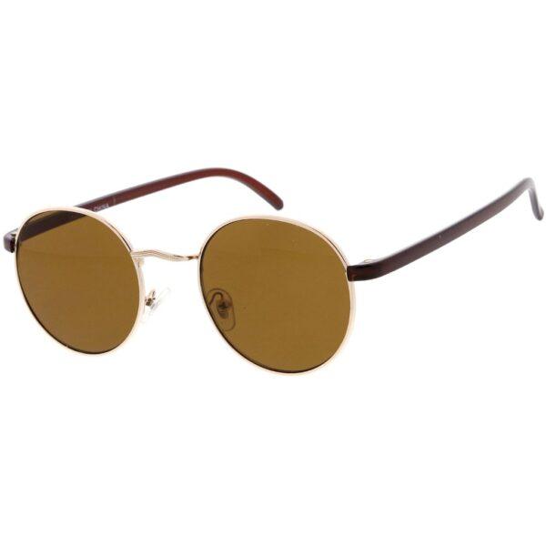 Bronze Round Sunglasses