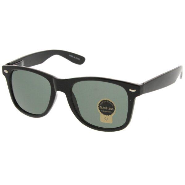 Black Sunglasses Wayfarer Style