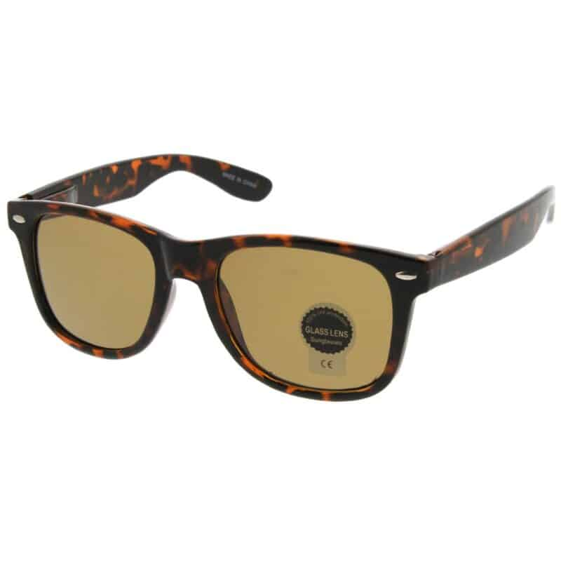 Tortoise Shell Sunglasses Wayfarer Style