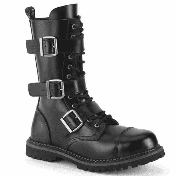 Steel Toe Combat Boot Riot-12